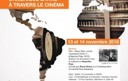 Des allers-retours transcontinentaux : interactions entre la France et l'Amérique latine à travers le cinéma