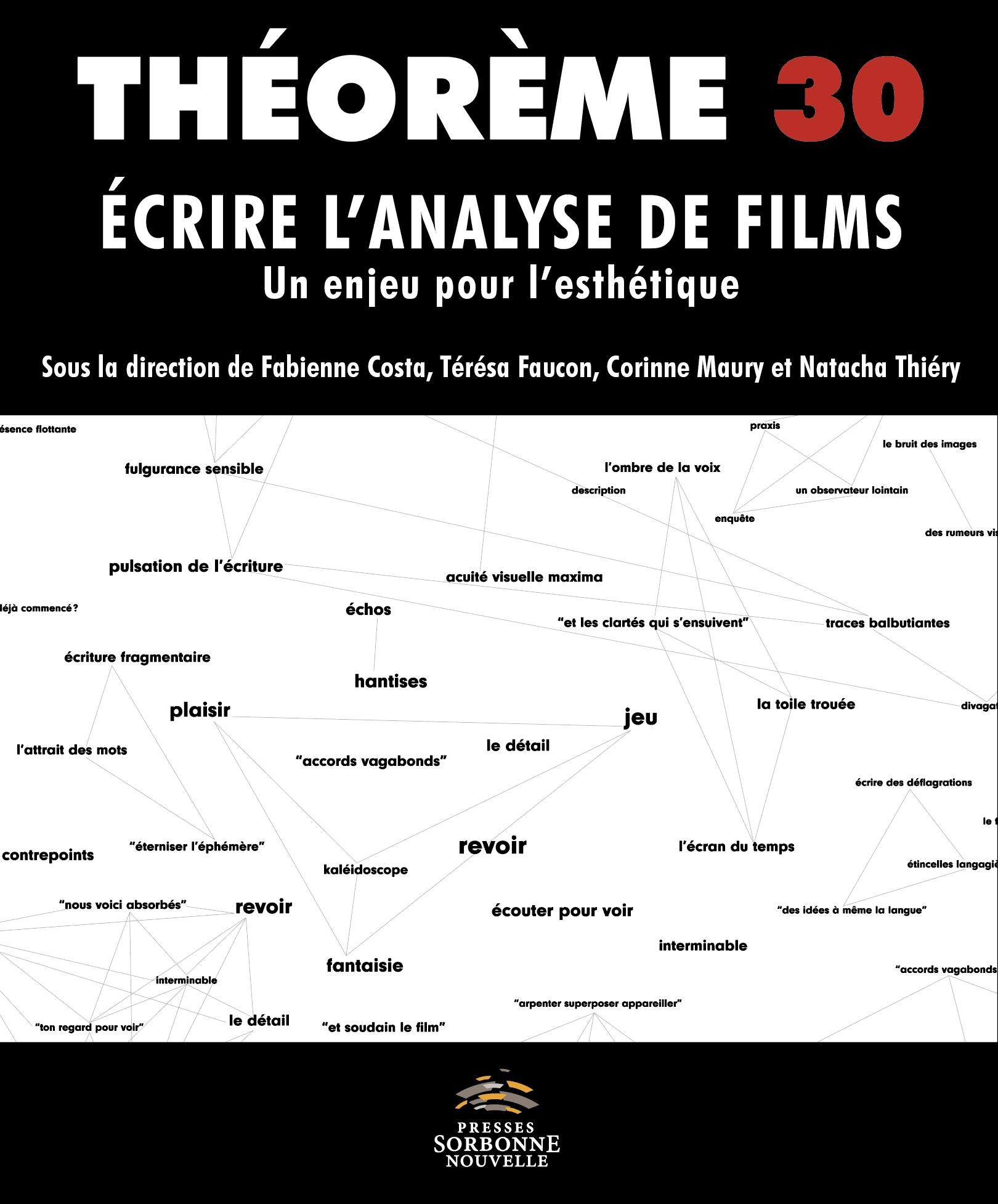 30. Écrire l'analyse de films